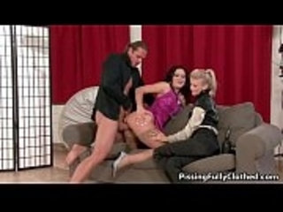 Two horny Euro babes love getting fucked