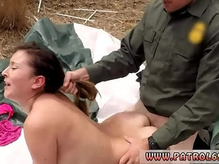 Police strip Anal for Tight Booty Latina
