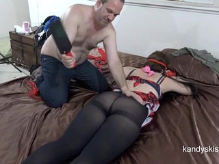 Pantyhose Ass Smacked 50 Shades of Dr. Grey