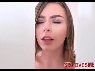 Playing With Step Sisters Pussy While She Jerks Me Off