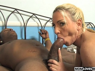 Mom Cala Craves fucks with a BBC in front of her son