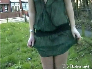 Welsh blonde nude Loz Lorrimars public masturbation and wild outdoor flashing