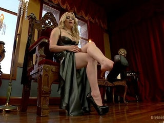 Aiden Starr foot worship pov