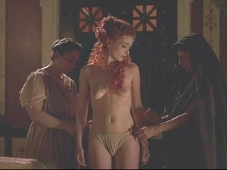 HBO Rome first season sex and nude scene polly walker